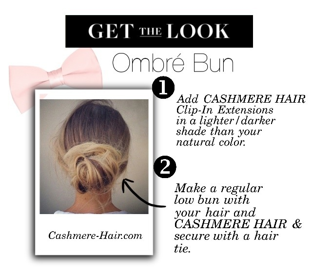 Get the Look: Ombré Bun