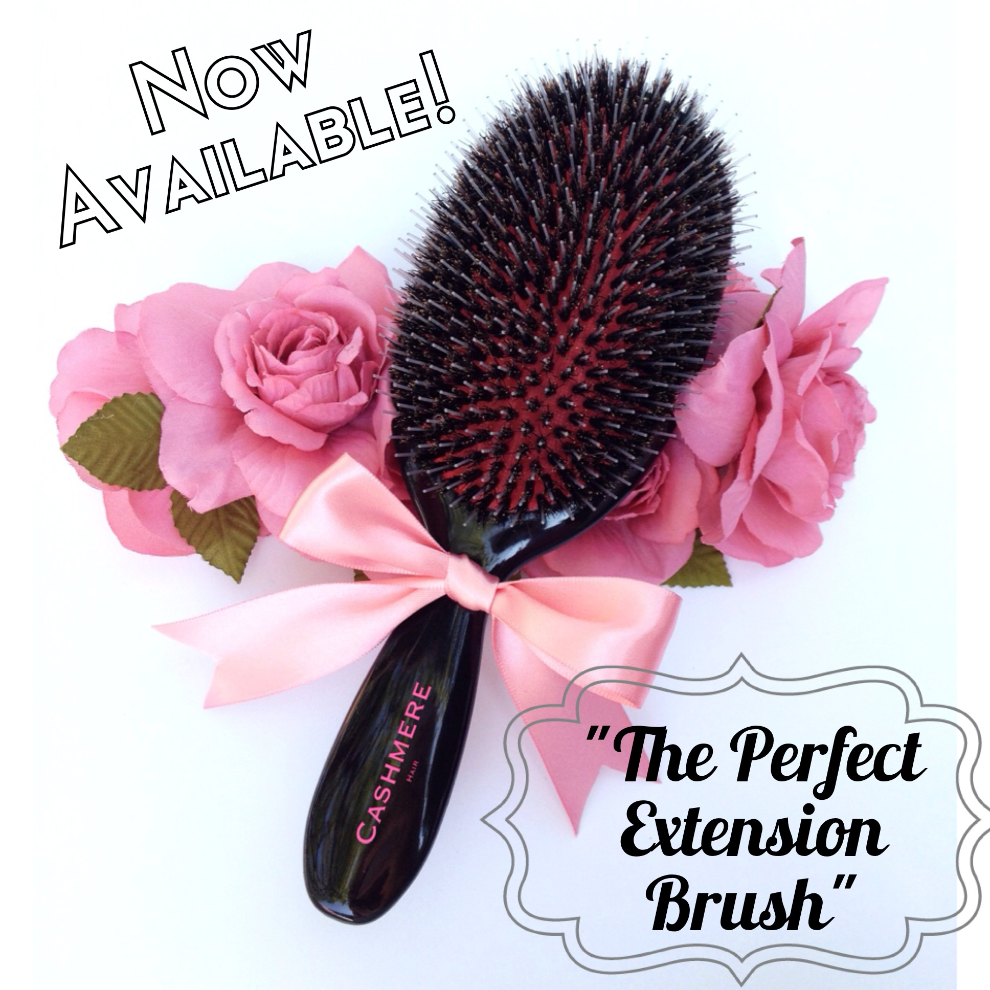 The New CASHMERE HAIR BRUSH!!