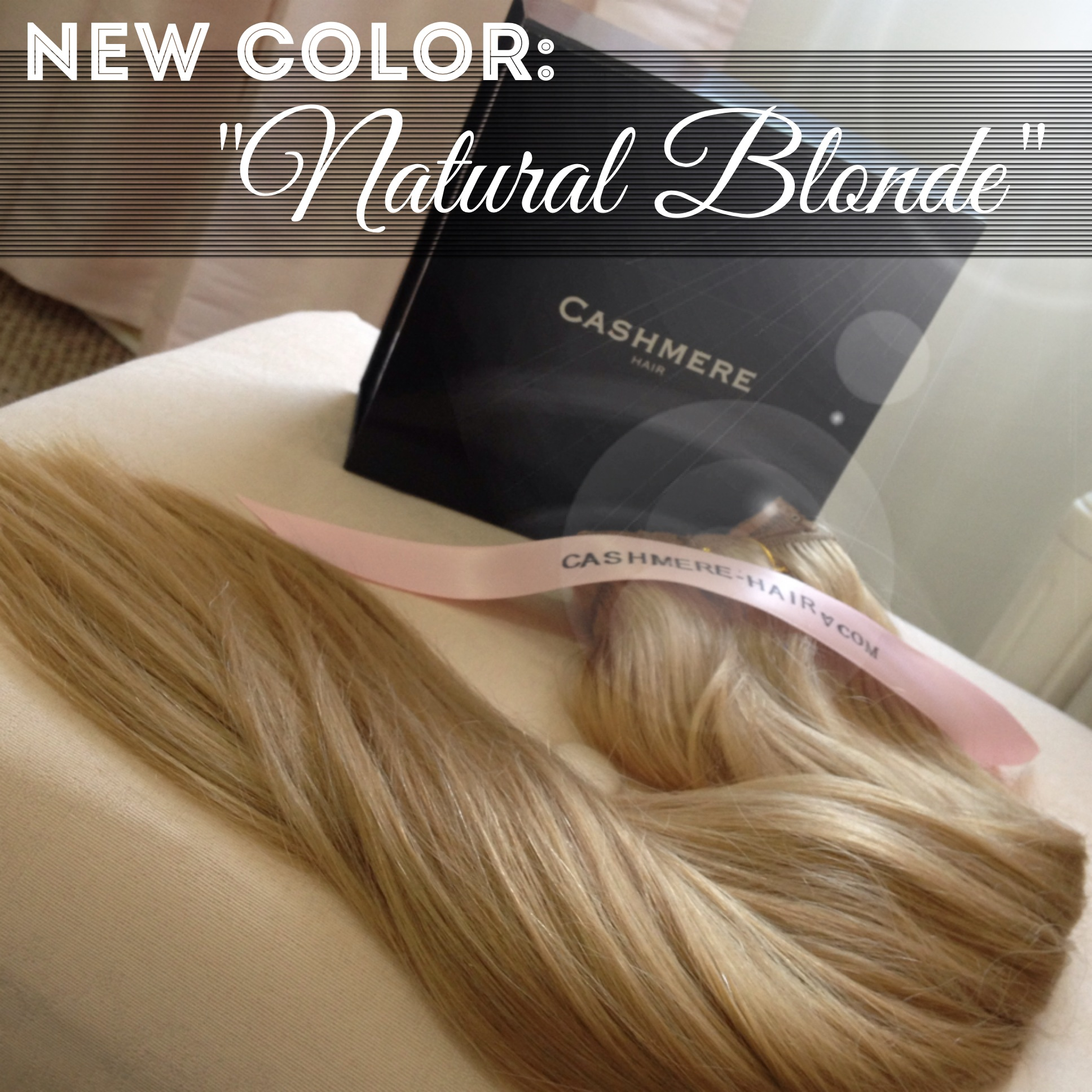 Introducing Our Newest Hair Color Now Available Cashmere Hair