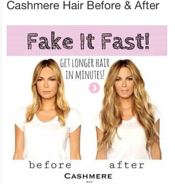 BEFORE & AFTER WITH RODEO DRIVE CASHMERE HAIR