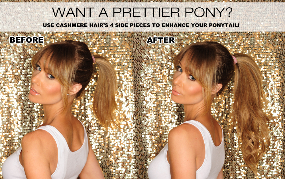 Want A Prettier Ponytail?