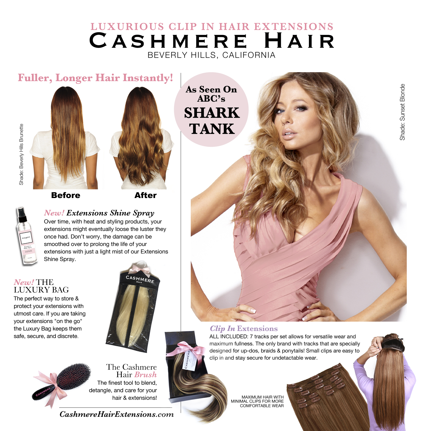 May 2014 Cashmere Hair Press Release Cashmere Hair Clip In Extensions