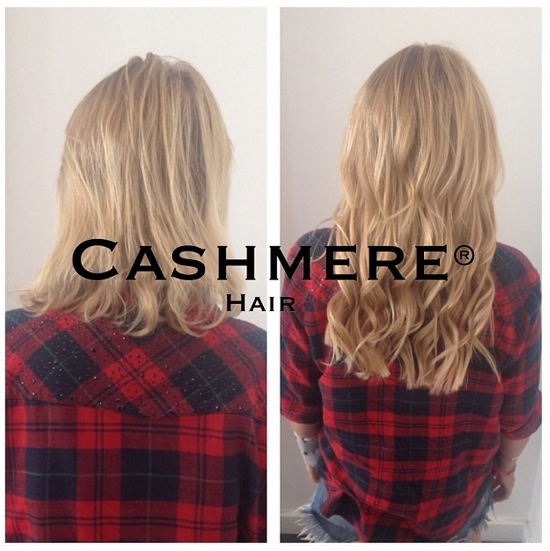 Cashmere Hair Before Afters Cashmere Hair Clip In Extensions