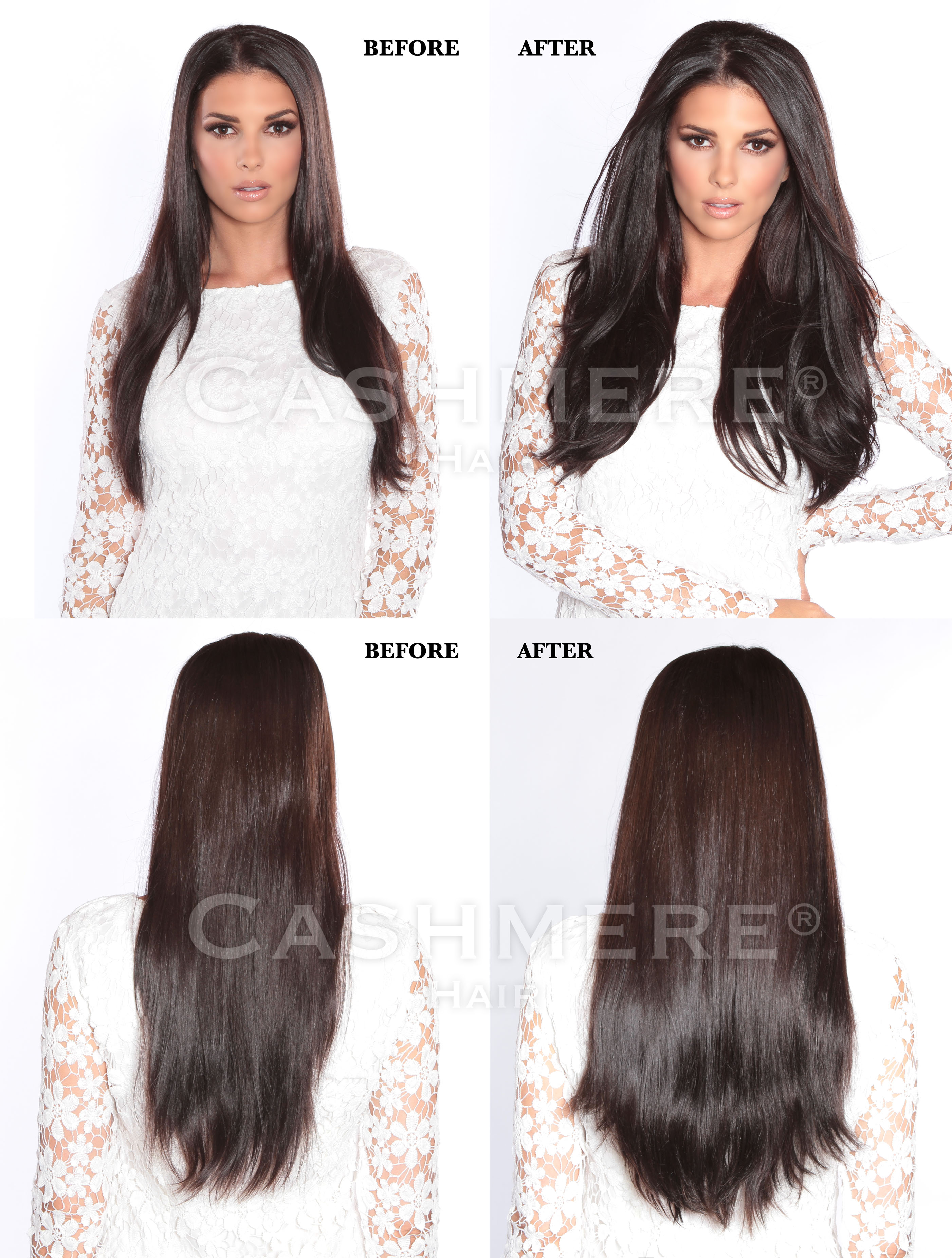 Black Brown BEFORE & AFTER