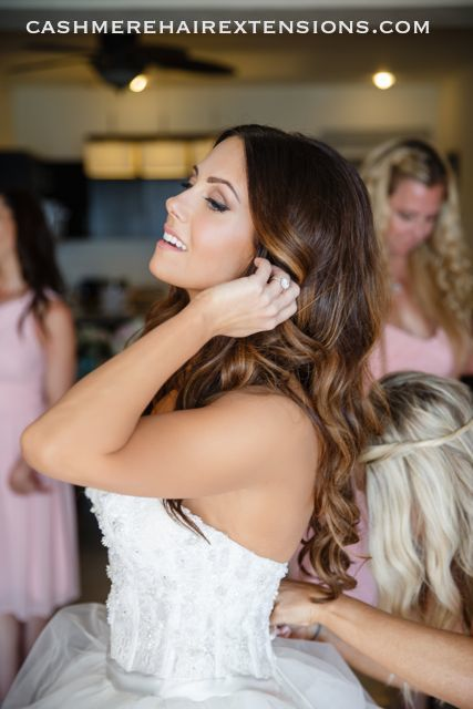 Cashmere Hair Extensions Bridal01
