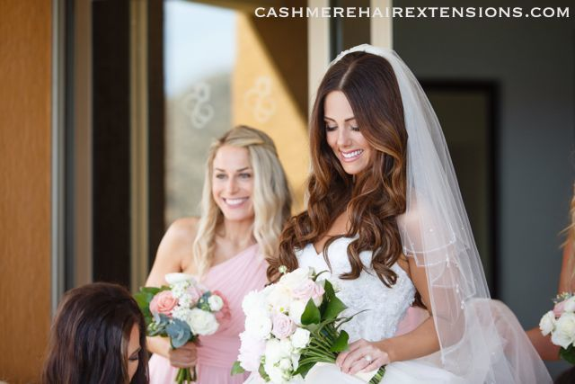 Cashmere Hair Extensions Bridal05