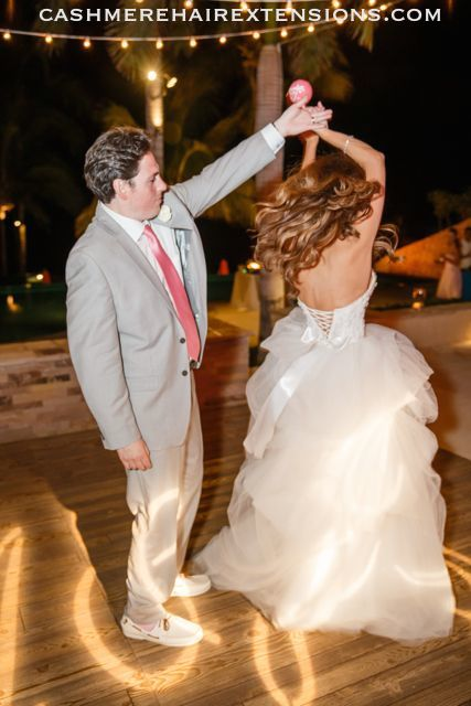 Cashmere Hair Wedding Hairstyle