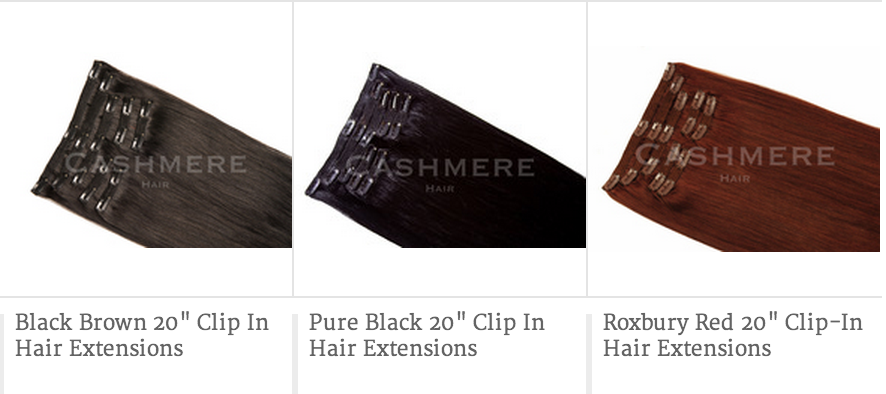 The Perfect Shades of Cashmere Hair
