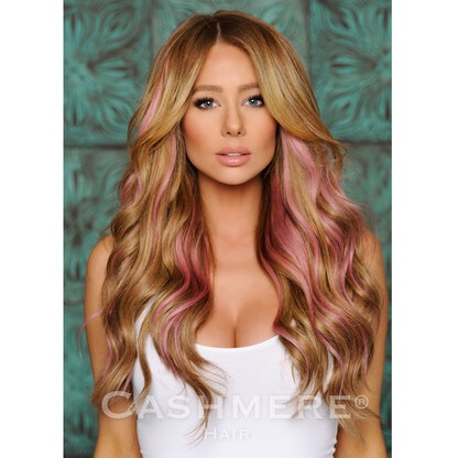 Limited Time! Pink Clip In Extensions