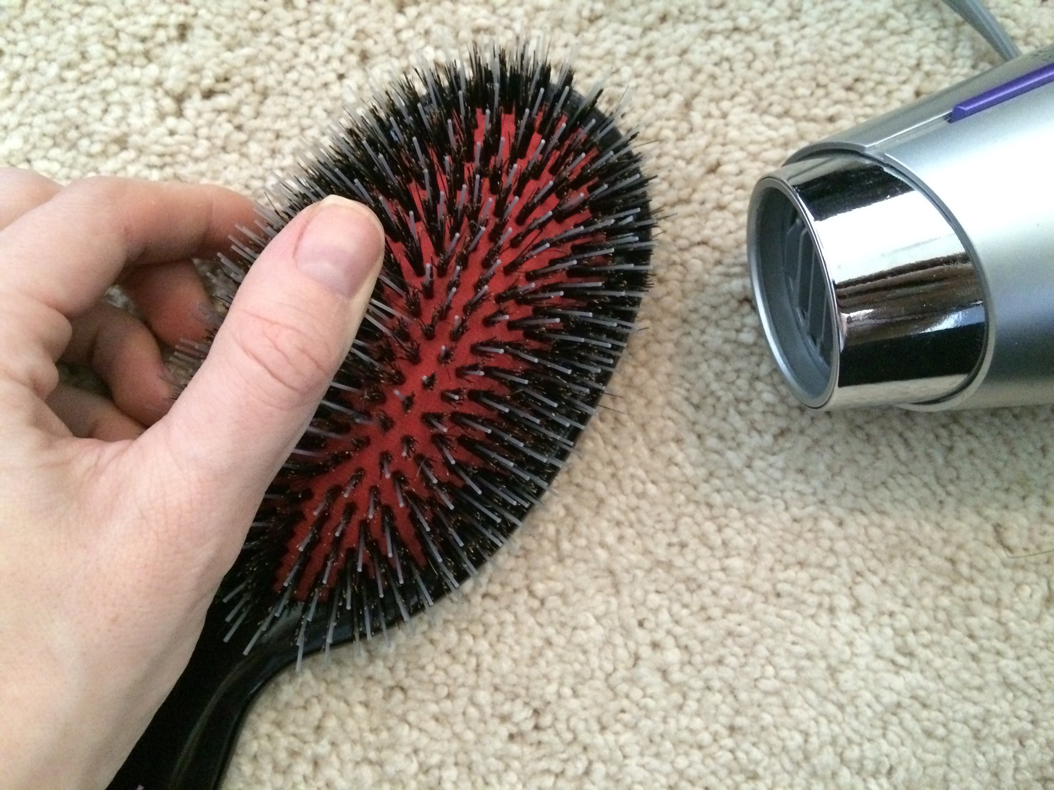 How To: Reshape the CASHMERE HAIR Brush Bristles
