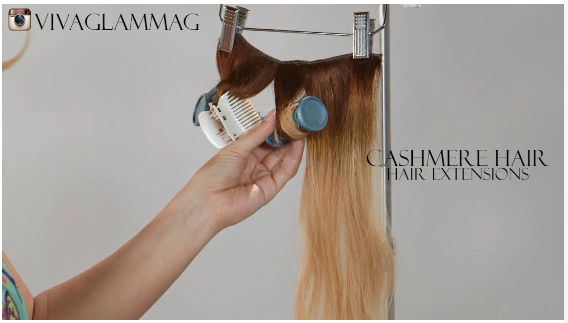 cashmere hair Viva Glam magazine