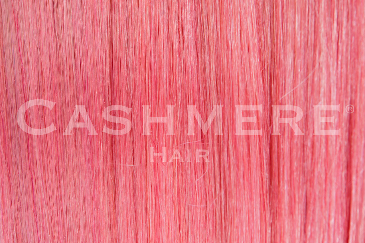 Pink Clip In Hair Extensions