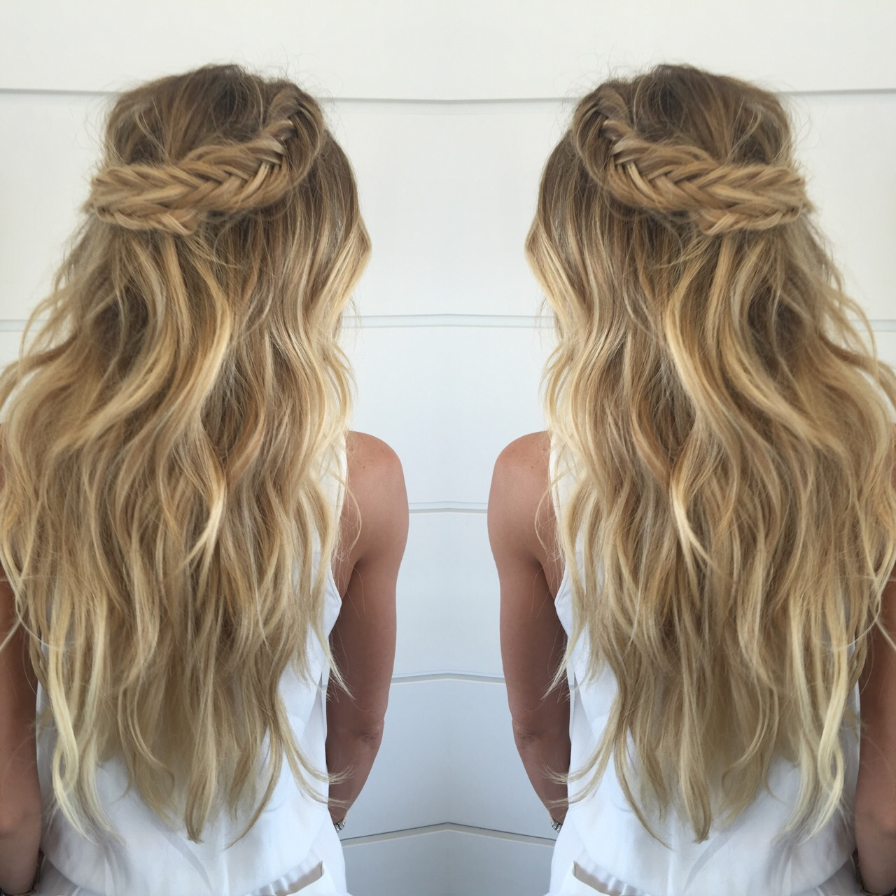 Stunning Braids With Cashmere Hair Cashmere Hair Clip In Extensions