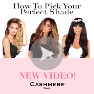cashmere hair video
