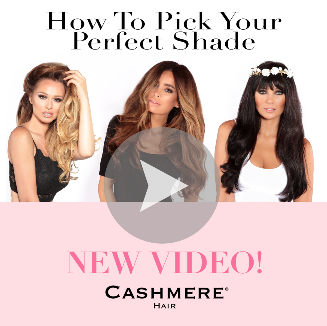 How To Pick Your Perfect Cashmere Hair Shade VIDEO