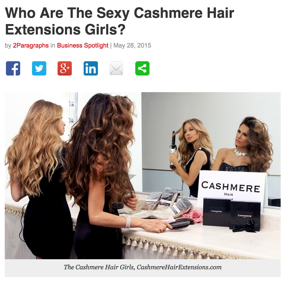 Who Are The Sexy Cashmere Hair Extension Girls?