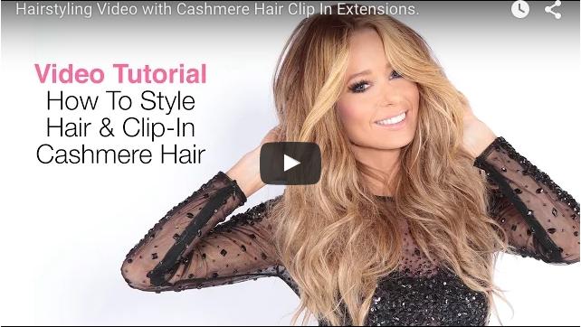 How Cashmere Hair's Creator Rachel Styles Her Hair