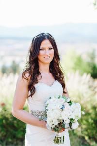 Miranda+Ian Wedding Cashmere Hair Extensions