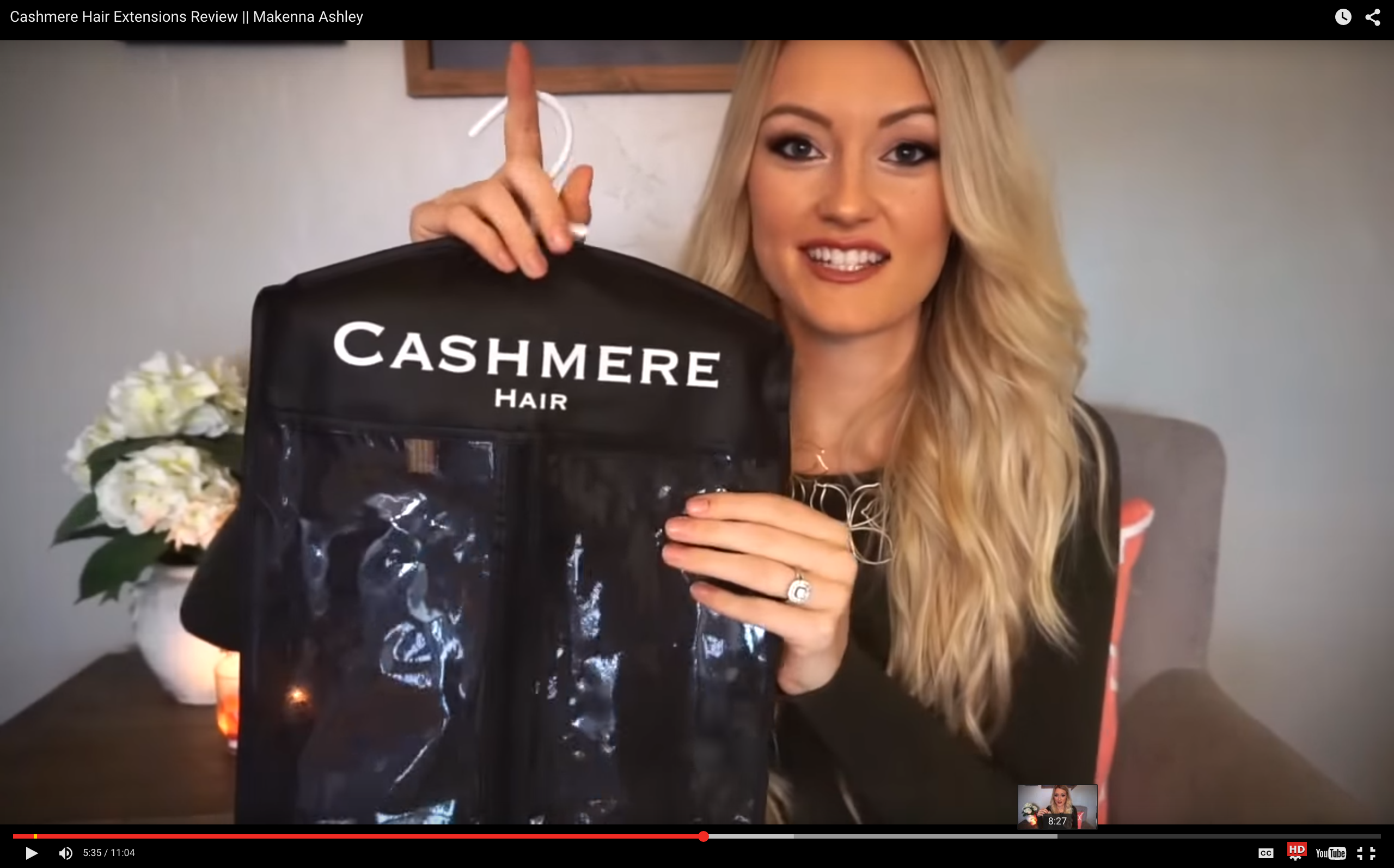 Cashmere Hair Review Video