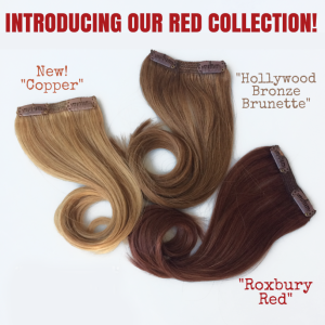 cashmere hair extensions copper
