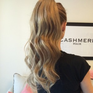 Cashmere Hair Wrap Ponytail