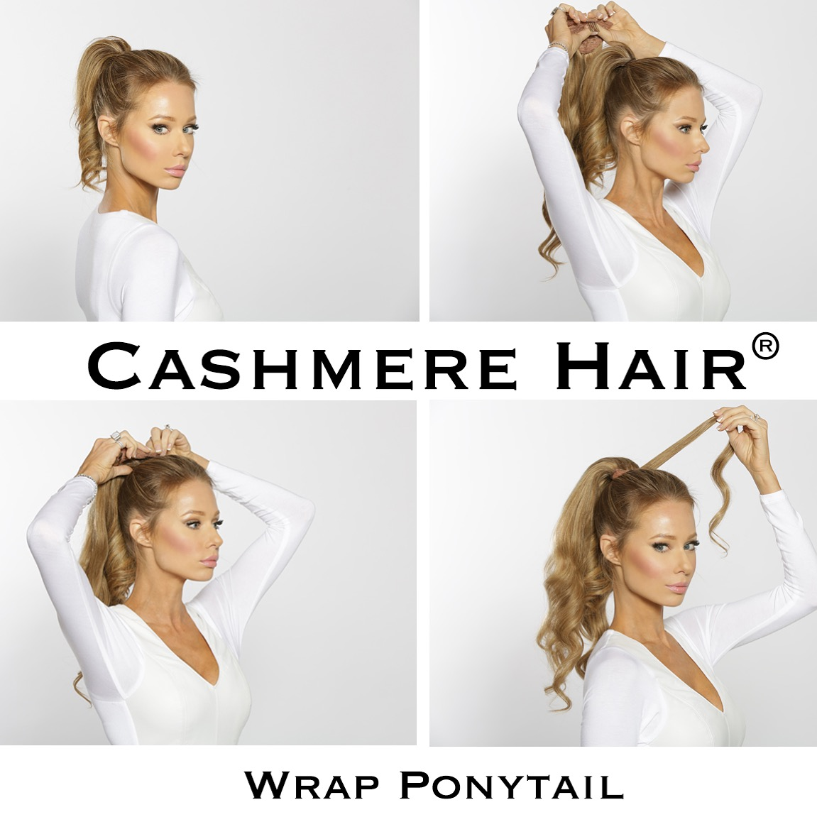How To Wear The Wrap Ponytail