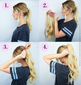 Easy Wrap Ponytail Extensions