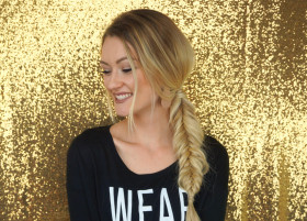 Dutch Fishtail Braid Tutorial