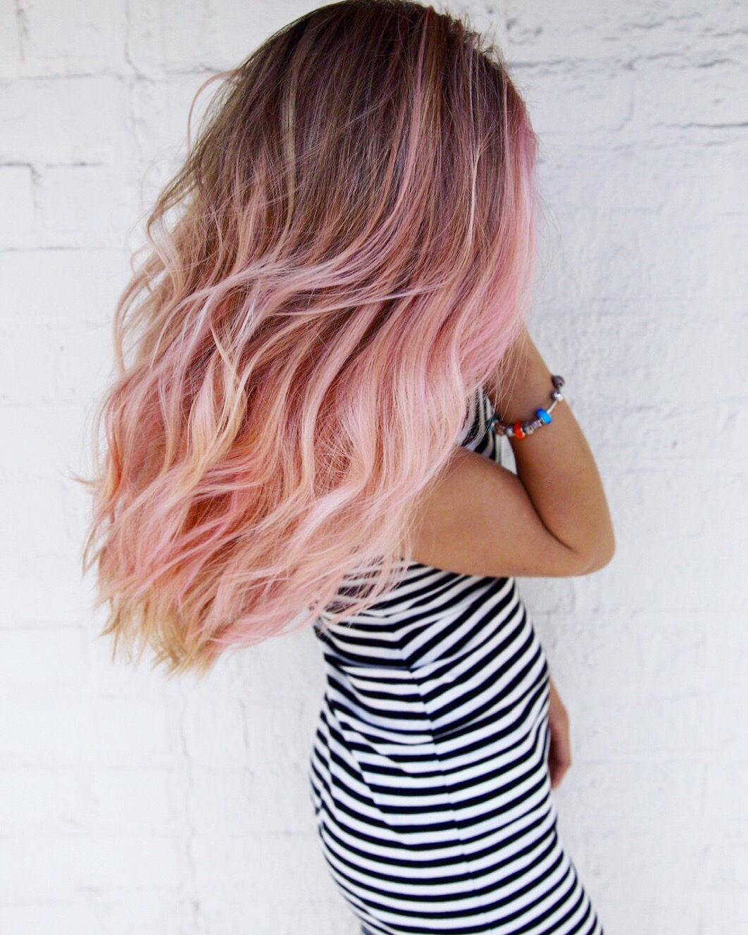 PINK UNICORN HAIR