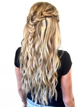 No Pins Bohemian Braid