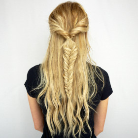 Twisted Fishtail Braid Tutorial