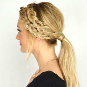 Double Dutch Braided Pony