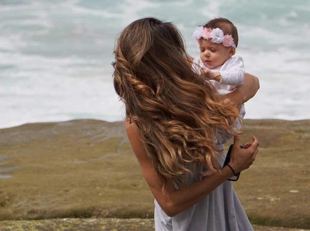 postpartum Cashmere Hair Extensions