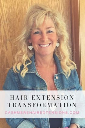 Hair Extension Transformation