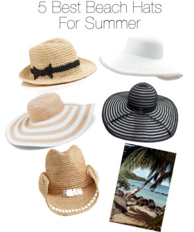 5 Best Beach Hats For Summer