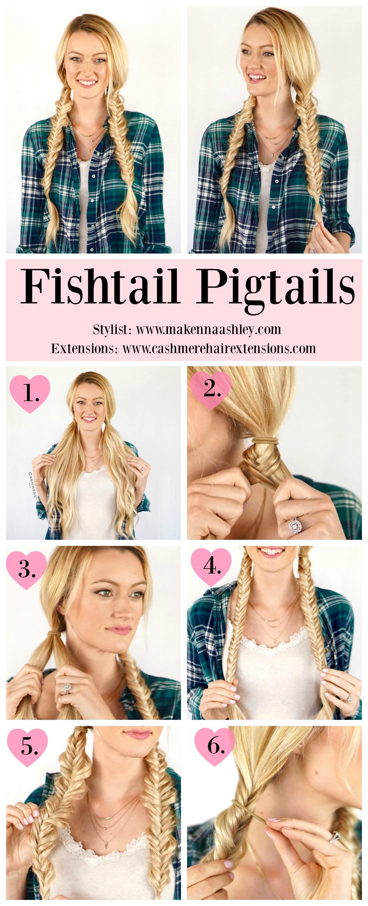 Fishtail Pigtails