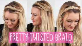 VIDEO: Pretty Twisted Braid