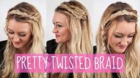 VIDEO: Pretty Twisted Braid