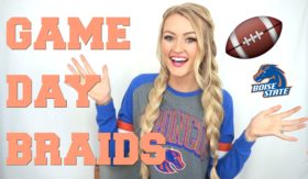 VIDEO: Game Day Hairstyle