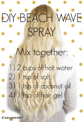DIY Beach Wave Spray