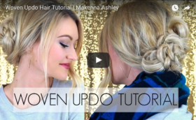 Woven Up-do Tutorial