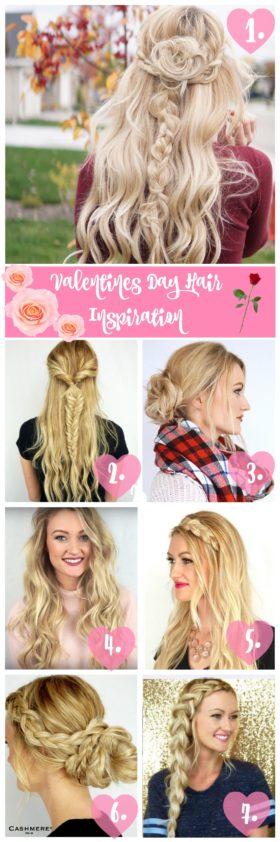 Valentine's Day Hair Inspiration
