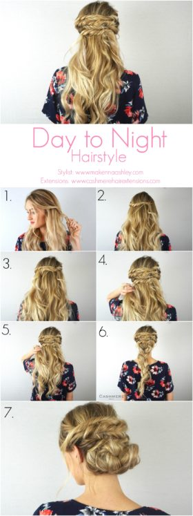 Day to Night Hairstyle