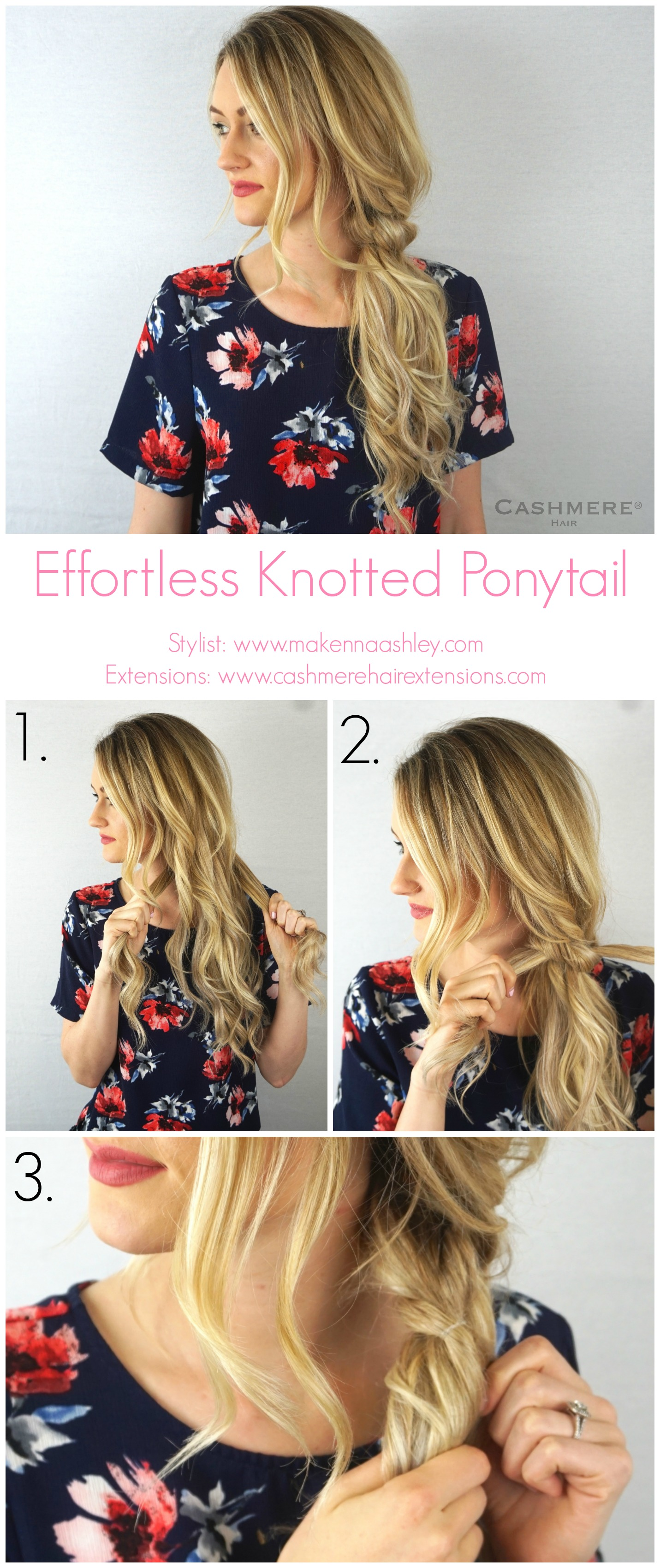 Effortless Knotted Ponytail Tutorial