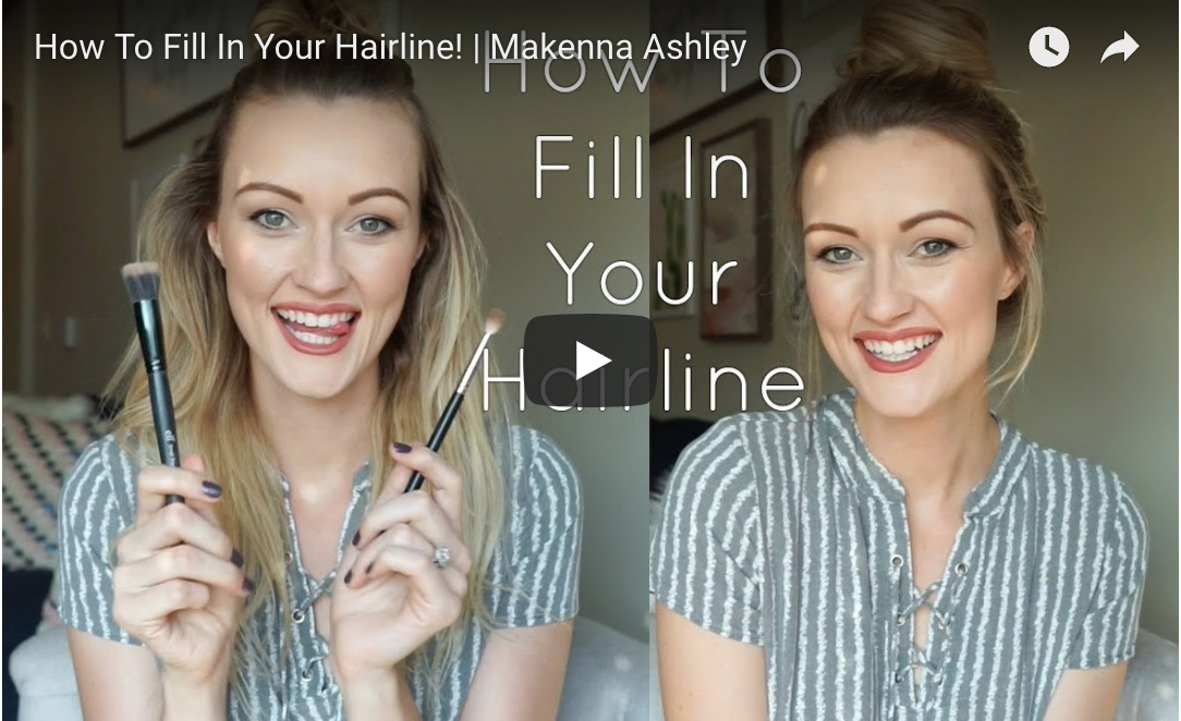 how to fill in your hairline cashmere hair clip in extensions