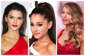 Celebrity New Years Eve Hairstyle Inspiration
