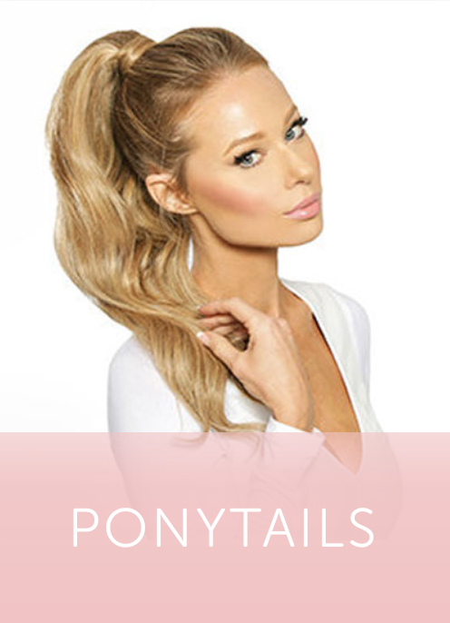 How To: Insert Ponytail Extension and Style | Cashmere Hair Clip In ...