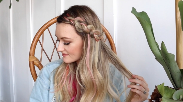 pink braid makena 1
